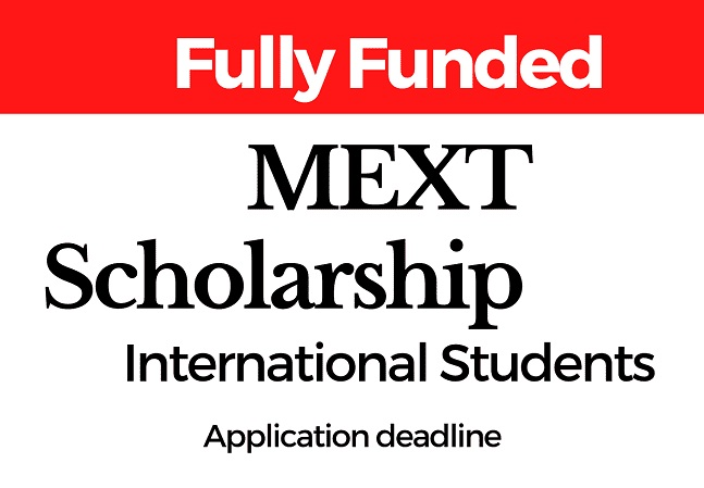 MEXT Scholarship 2021 India - Application Form Deadline [Graduate Courses]