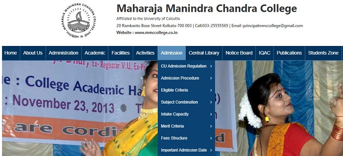 Maharaja Manindra Chandra College Admission 2021 (Portal Login) - Application Form, Dates, Fees